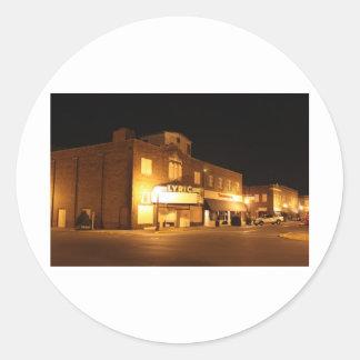 叙情詩的な劇場- WAYCROSS、ジョージア ラウンドシール