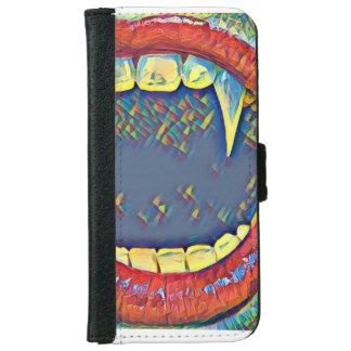 口の吸血鬼 iPhone 6/6S ウォレットケース