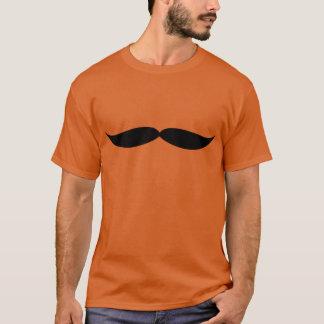 口ひげのティー(オレンジ) Tシャツ
