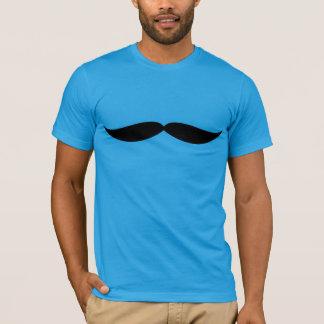 口ひげのティー(ティール(緑がかった色)) Tシャツ