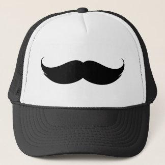 口ひげのトラック運転手の野球帽 キャップ