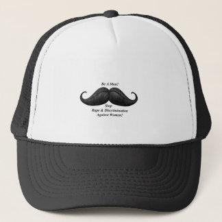 口ひげの帽子、女性に対する停止レイプ キャップ
