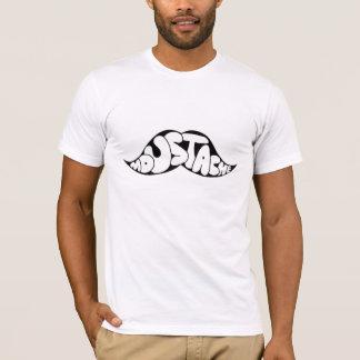 口ひげの衣類 Tシャツ
