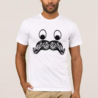 口ひげのTシャツ Tシャツ