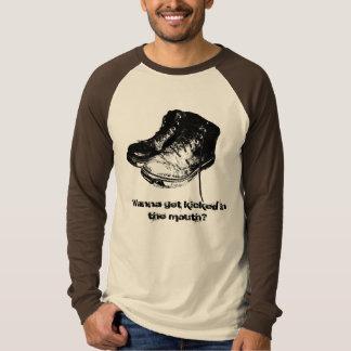 口作動させる得たいと思って下さいか。 Tシャツ