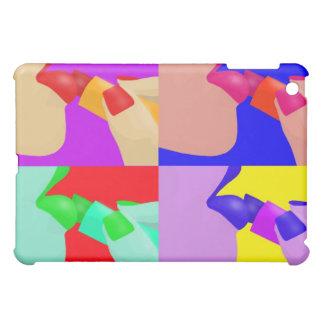 口紅のポップアート iPad MINIカバー