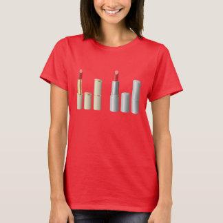 口紅のワイシャツ Tシャツ