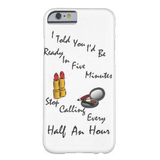 口紅の構造のテーマの電話箱 BARELY THERE iPhone 6 ケース