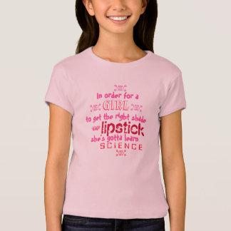 口紅科学 Tシャツ