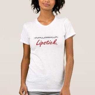 口紅! Tシャツ