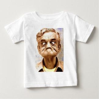 古いおもしろい ベビーTシャツ