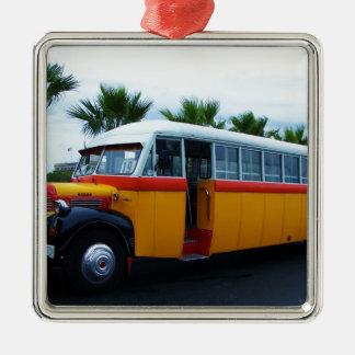 古いごまかしバス メタルオーナメント