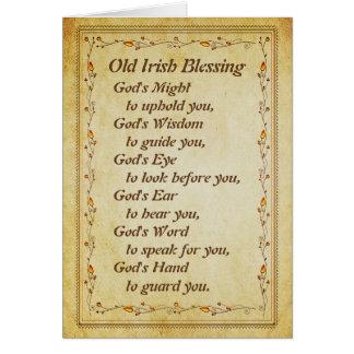 古いアイルランドの天恵、導く神の知恵 カード