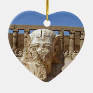 古いエジプト セラミックオーナメント