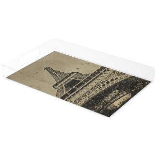 古いエッフェル塔の写真撮影 アクリルトレー
