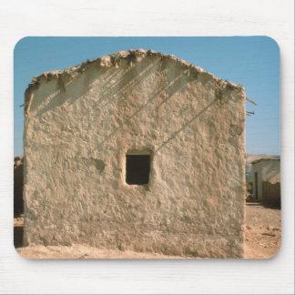 古いエリコの建物 マウスパッド
