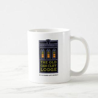 古いカシの崖ロッジのマグ コーヒーマグカップ