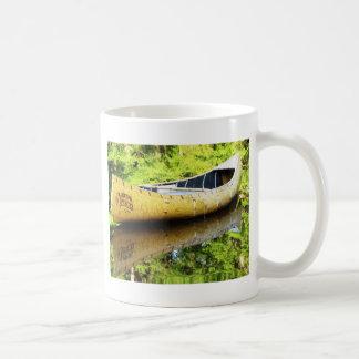 古いカヌー コーヒーマグカップ