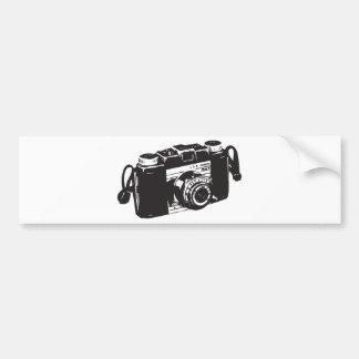 古いカメラ バンパーステッカー