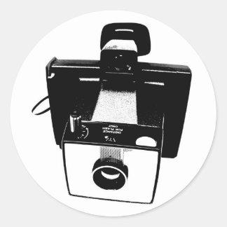 古いカメラ ラウンドシール