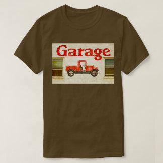 古いガレージ Tシャツ