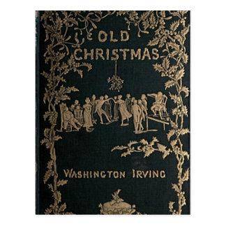 古いクリスマス-ワシントン州アービング ポストカード