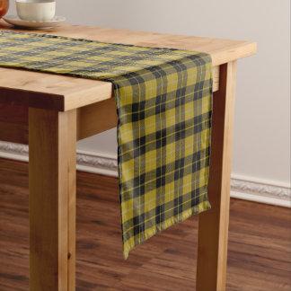古いスコットランドの一族のバークレイの服のタータンチェック格子縞 ショートテーブルランナー