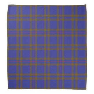古いスコットランド人の一族のエリオットエリオットのタータンチェック格子縞 バンダナ