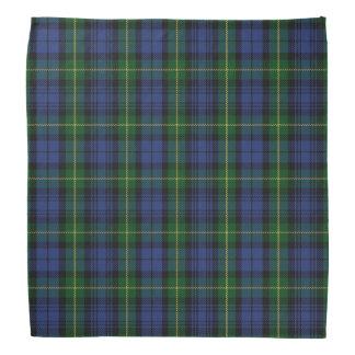 古いスコットランド人の一族のゴードンのタータンチェック格子縞 バンダナ