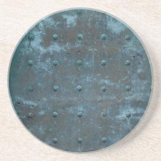 古いスペイン人のTranishedの銅のドア コースター