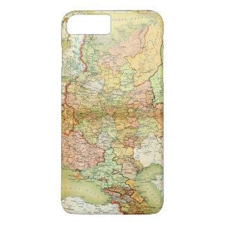 古いソビエト連邦ソビエト社会主義共和国連邦ロシアの1928地図 iPhone 8 PLUS/7 PLUSケース