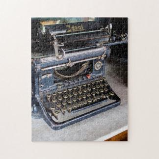 古いタイプライター ジグソーパズル