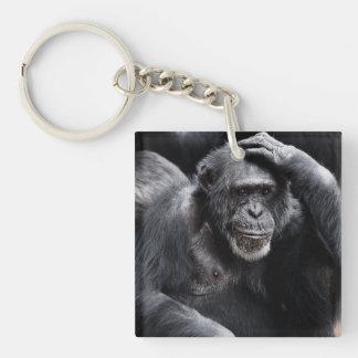 古いチンパンジーのキーホルダー キーホルダー