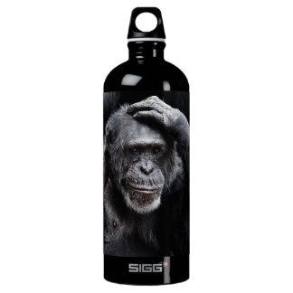古いチンパンジーの名前をカスタムする旅行ボトル ウォーターボトル