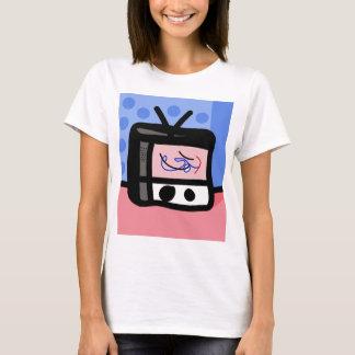 古いテレビ Tシャツ