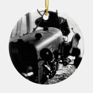 古いトラクター セラミックオーナメント