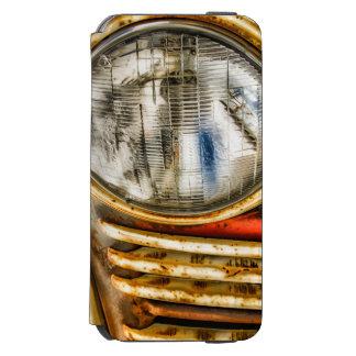 古いトラックのデザイン iPhone 6/6Sウォレットケース