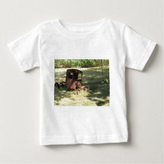 古いトラック ベビーTシャツ
