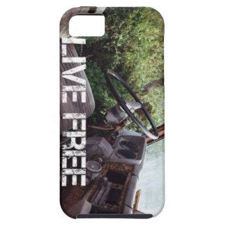 古いトラック、生きている自由 iPhone SE/5/5s ケース