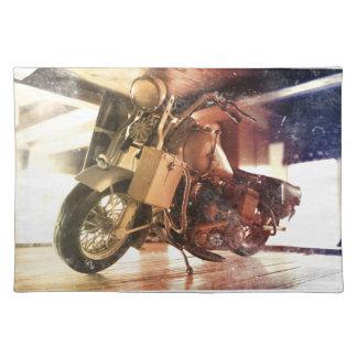 古いバイク ランチョンマット