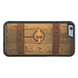 古いバレル CarvedメープルiPhone 6バンパーケース