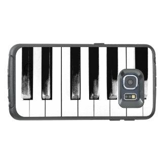 古いピアノはおもしろいなカッコいいを調整します オッターボックスSamsung GALAXY S6 EDGEケース