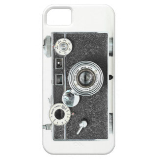 古いファッションのカメラの箱 iPhone SE/5/5s ケース
