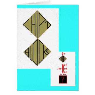 古いブロックまたは破片を離れた破片; dのブロック カード