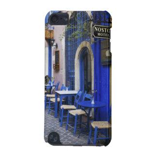 古いホテルへのカラフルで青い戸口そして下見張り iPod TOUCH 5G ケース