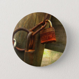 古いポストの標準、2つの¼のインチの円形ボタン 5.7CM 丸型バッジ