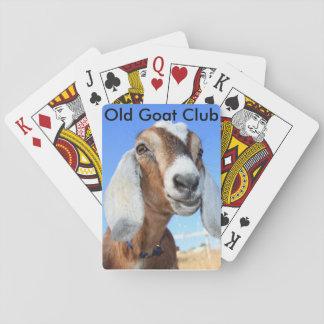 古いヤギクラブカード トランプ