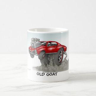 古いヤギ コーヒーマグカップ