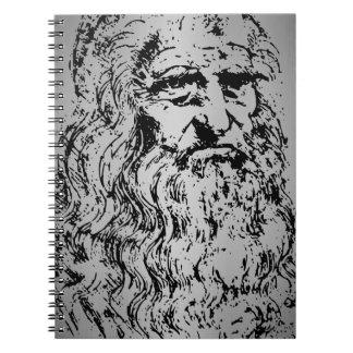 古いレオナルド ノートブック
