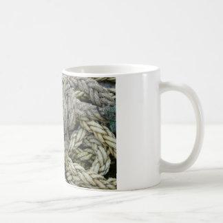 古いロープ コーヒーマグカップ
